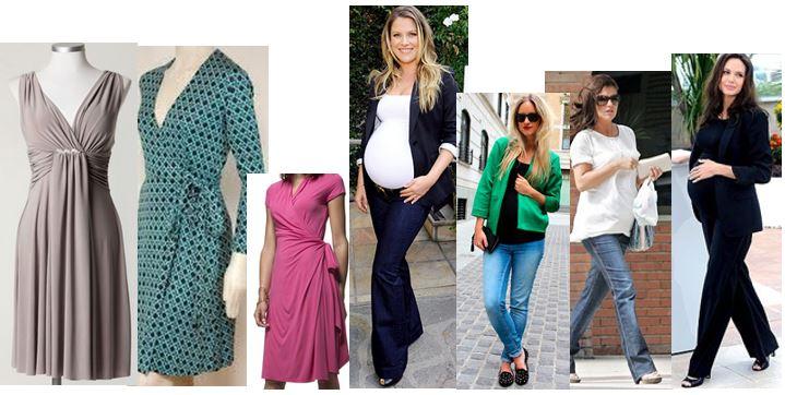 Como vestir en embarazo 6
