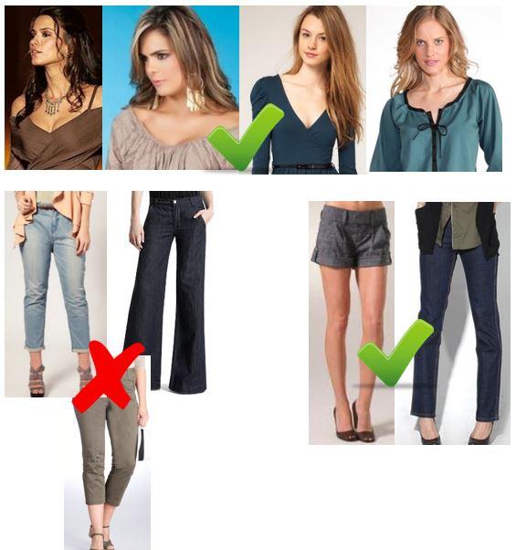 Como vestir si soy bajita 2