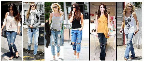 Jeans rasgados 3