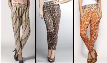 pantalones triangulo invertido