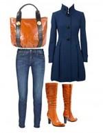 Como vestir para una ocasión casual en invierno cuerpo tipo reloj de arena