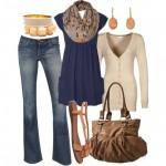 Como Vestir Cuerpo Tipo Manzana En Una Ocasión Casual En Otoño